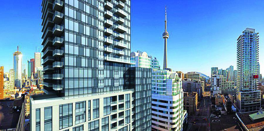 تصویر از آشفتگی بازار کاندو آپارتمان در تورنتو