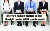 طریقه مصاحبه صحیح برای استخدام مشاور فروش املاک