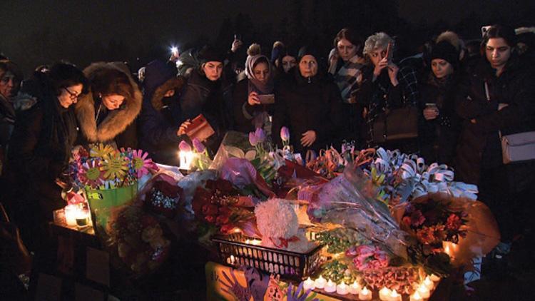 یادبود جان باختگان هواپیمایی اوکراین