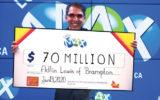 مدیر برمپتونی برنده لوتومکس 70 میلیون دلاری شد