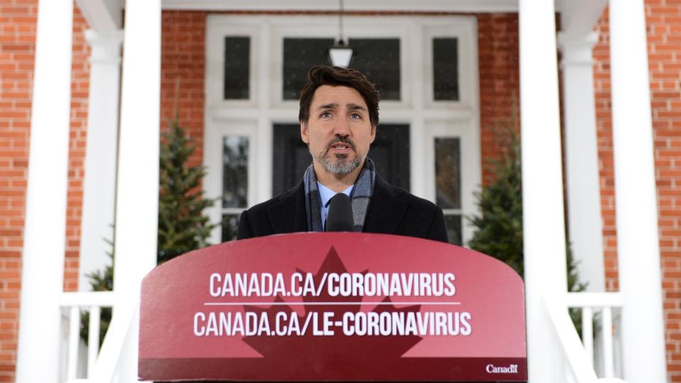 نخست وزیر کانادا خطاب به مردم: بس است دیگر، در خانه بمانید / واکسن در دست تهیه است