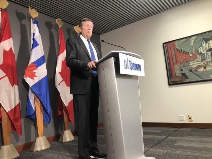 """""""جان توری"""" شهردار تورنتو اعلام وضعیت اضطراری کرد"""