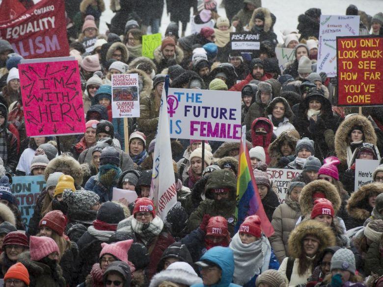 تصویر از حمایت کانادا از برابری جنسیتی با واقعیت تطابق ندارد