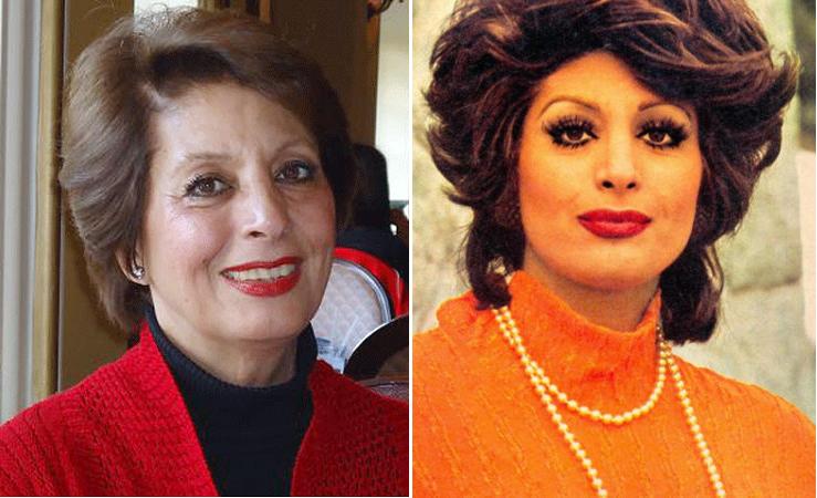 تصویر از مرجان، خواننده و هنرپیشه ایرانی، درگذشت