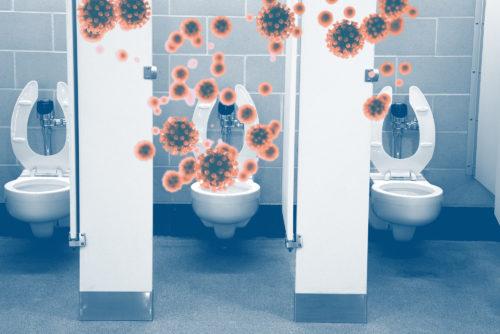 توصیه بهداشتی :با احتیاط سیفون توالت را بکشید: ذرات ویروس کرونا میتوانند از طریق ترشح آب ناشی از شستشوی توالت پخش شوند
