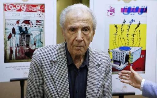 تصویر از حسن توفیق مدیرمسئول نشریه طنز توفیق در ۹۵سالگی درگذشت