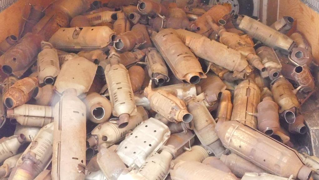 تصویر از آلبرتا _ ادمونتون : سرقت 500 مبدل کاتالیزوری در ادمونتون