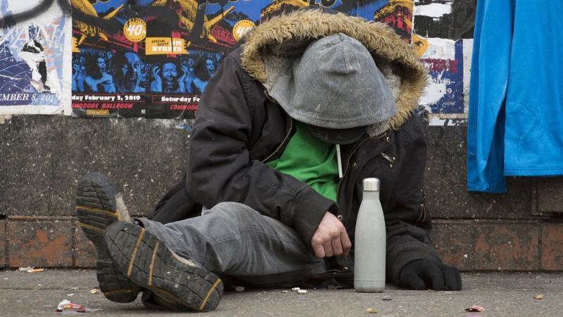 تصویر از مصرف بیش از اندازه مواد مخدر : یک کلینیک در ونکوور در حال مبارزه و کمک به معتادان