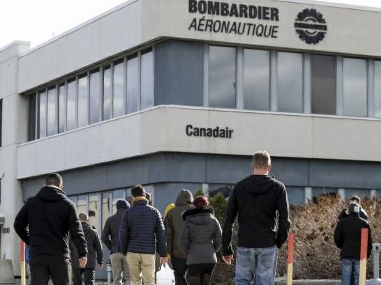 تصویر از بمباردیر 2500 فرصت شغلی را حذف می کند