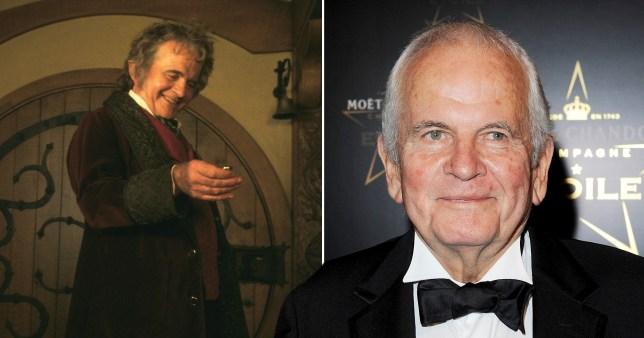 تصویر از ایان هولم، هنرپیشه بریتانیایی ارباب حلقه ها در سن 88 سالگی درگذشت