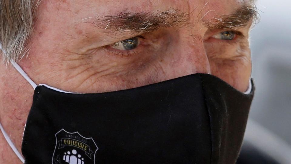 تصویر از جایر بولسونارو رئیس جمهور برزیل مبتلا به کووید19 شد