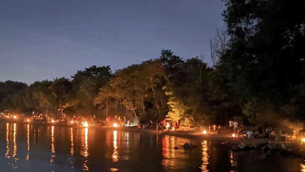 تصویر از شهردار تورنتو : جهت پیشروی به مرحله سوم، قوانین سخت برای مهمانی های شبانه ساحلی لازم است