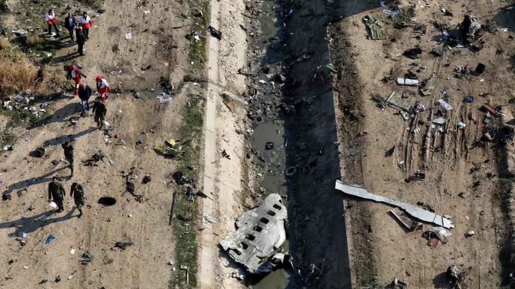 تصویر از ایران جعبه سیاه هواپیمای مسافربری اوکراین را به فرانسه فرستاد