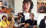 ترانه مرا ببوس : هنرمندان کانادا و امریکا به یاد قربانیان پرواز 752 اوکراین ایر اجرا کردند