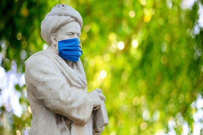 تصویر از پنام بجای ماسک واژه جدید از فرهنگستان زبان فارسی