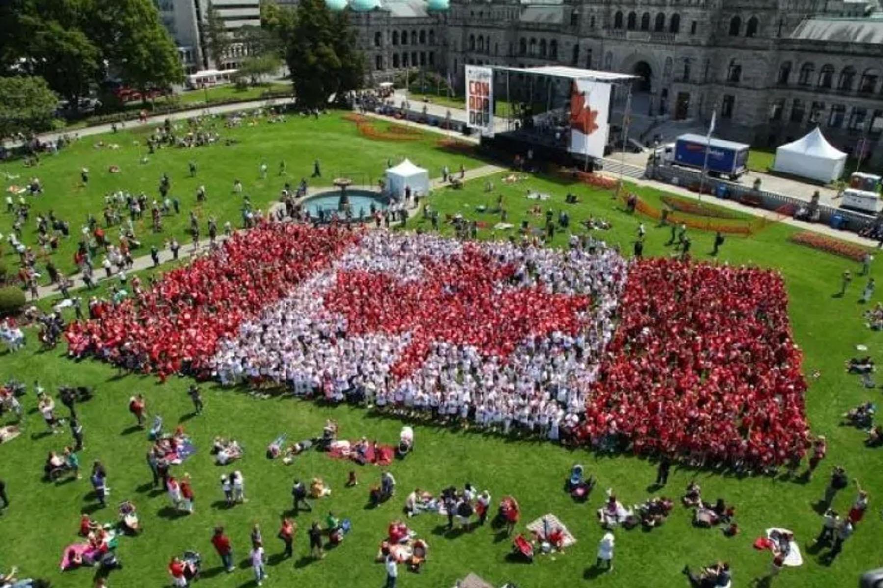 تصویر از جشن روز کانادا 2020 در بریتیش کلمبیا مجازی برگزار میشود