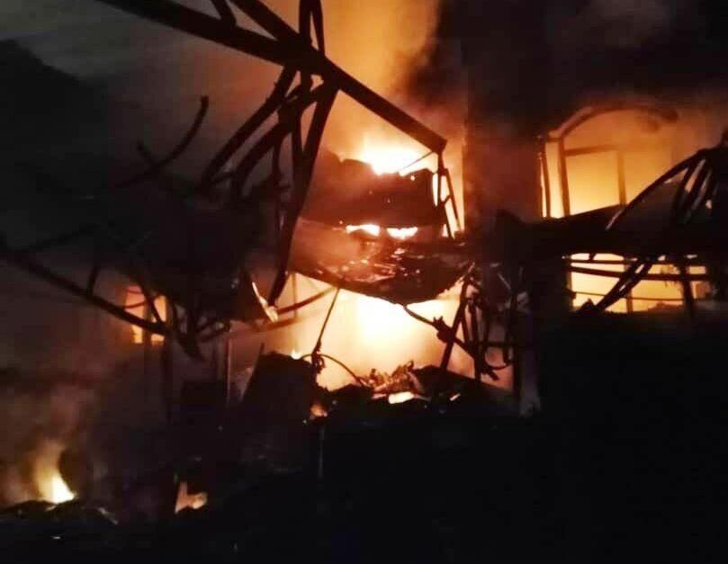 تصویر از حادثه کلینیک سینا اطهر با 19 کشته و 23 مجروح پلاسکویی دیگر رقم زد