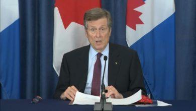 تصویر از جان توری شهردار از تجمع دوباره مستاجران معترض تورنتویی ابراز نگرانی کرد