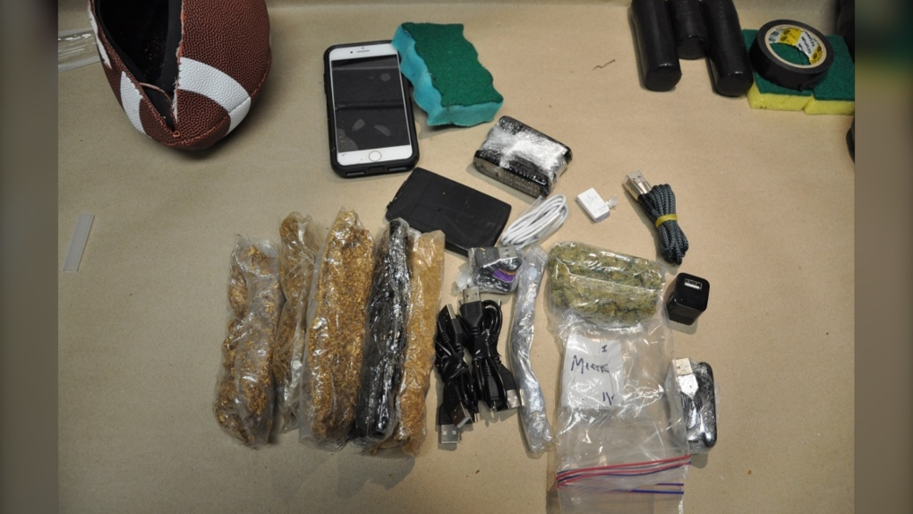 تصویر از حمل و قاچاق مواد مخدر در یک کوله پشتی به یک زندان در بریتیش کلمبیا