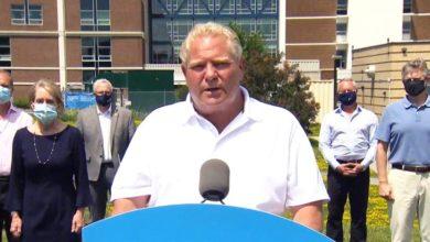تصویر از داگ فورد نخست وزیر انتاریو : تورنتو و منطقه پیل وارد مرحله سوم بازگشایی می شوند