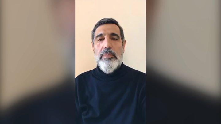 تصویر از جسد غلامرضا منصوری قاضی تحت تعقیب به ایران منتقل شد