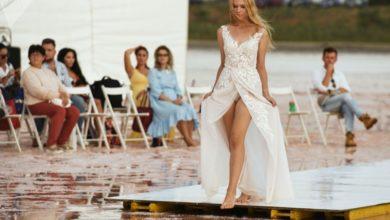 تصویر از نمایش مد اوکراین روی دریاچه نمکی ساسیک سیواش کریمه برگزار شد