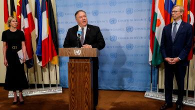 تصویر از مایک پمپئو : امریکا آماده اجرای تحریم های گسترده سازمان ملل علیه ایران است