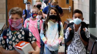 تصویر از تعداد مبتلایان به کووید19 در کانادا پس از بازگشایی مدارس افزایش یافت