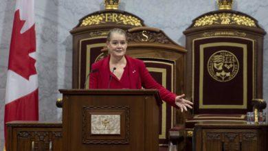 تصویر از فرماندار کل کانادا جولی پایت از کارکنانش دلجویی کرد