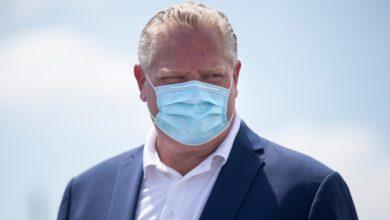 تصویر از داگ فورد نخست وزیر انتاریو : تا سال 2021 سقف نفرات در محافل عمومی 10 نفره خواهد ماند