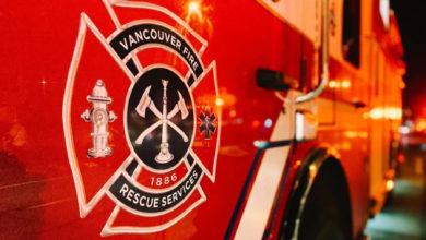 تصویر از آتش نشانی ونکوور : دو نفر از نیروهای بخش خدمات نجات به کووید19 مبتلا شدند