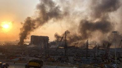 تصویر از انفجار مهیب بیروت : نزدیک به 80 کشته و هزاران زخمی / چهارشنبه اعلام عزای عمومی