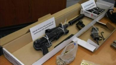 تصویر از بریتیش کلمبیا : کشف و ضبط بزرگترین محموله سلاح گرم ، مواد مخدر و وجه نقد