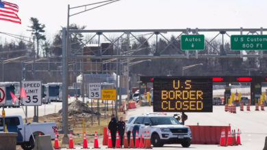 تصویر از مرز امریکا و کانادا یک ماه دیگر مسدود ماند / ممنوعیت سفرهای غیر ضروری