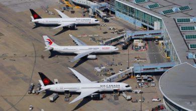 تصویر از مسافران 6 پرواز بریتیش کلمبیا در معرض ابتلا به کووید19
