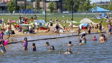 تصویر از بعلت وجود مقدار زیادی مدفوع ، شنا کردن در دریاچه چسترمیر متوقف شد