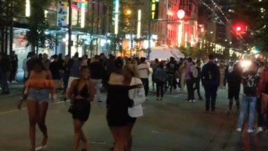 تصویر از فیلم لو رفته مهمانی بزرگ بدون رعایت دستورالعمل های بهداشتی در ونکوور جنجالی شد