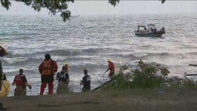تصویر از دریاچه انتاریو طی 48 ساعت گذشته سه نفر قربانی گرفت