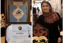 تصویر از جایزه بهترین مستند به فیلم راه برفی ساخته آذر فرامرزی رسید