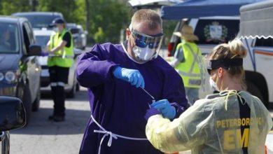 تصویر از کووید19 در انتاریو : برای ششمین روز متوالی موارد جدید ویروس کرونا همچنان بالای 100 نفر