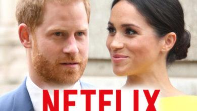 تصویر از پرنس هری و مگان مارکل با نتفلیکس وارد قرارداد شدند