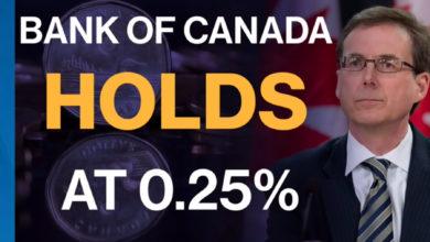 تصویر از بانک مرکزی کانادا نرخ بهره اصلی ( پایه ) را ثابت نگه داشت