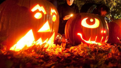 تصویر از جشن سالانه هالووین امسال در خیابان چرچ بدلیل شیوع کووید19 لغو شد