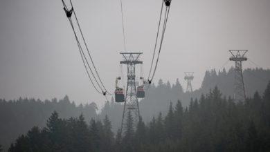 تصویر از دود ناشی از آتش سوزی امریکا کیفیت هوای بریتیش کلمبیا را در وضعیت هشدار قرار داد