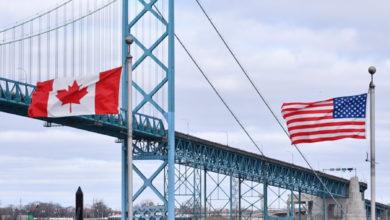 تصویر از منابع آگاه : مسدود بودن مرزهای کانادا و آمریکا احتمالا تا نوامبر ادامه دارد