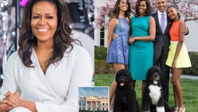 تصویر از میشل اوباما از مایکل اس اسمیت طراح داخلی کاخ سفید قدردانی کرد