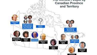 تصویر از میلیاردرهای کانادا از زمان شروع ویروس کرونا 37 میلیارد دلار به جیب زده اند
