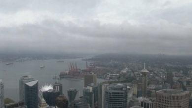 تصویر از کیفیت هوا در مترو ونکوور و فریزر ولی در استان بریتیش کلمبیا بهتر میشود