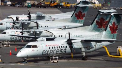 تصویر از ایر کانادا در صدر لیست شکایات خطوط هوایی ایالات متحده امریکا برای استرداد وجه