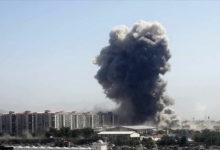 تصویر از جنوب لبنان با انفجار مهیبی لرزید